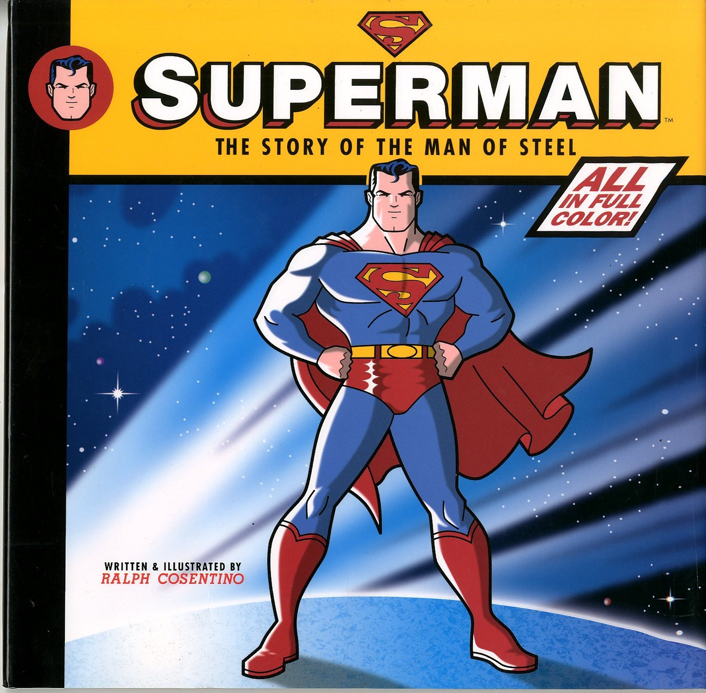 the history of the man of steel