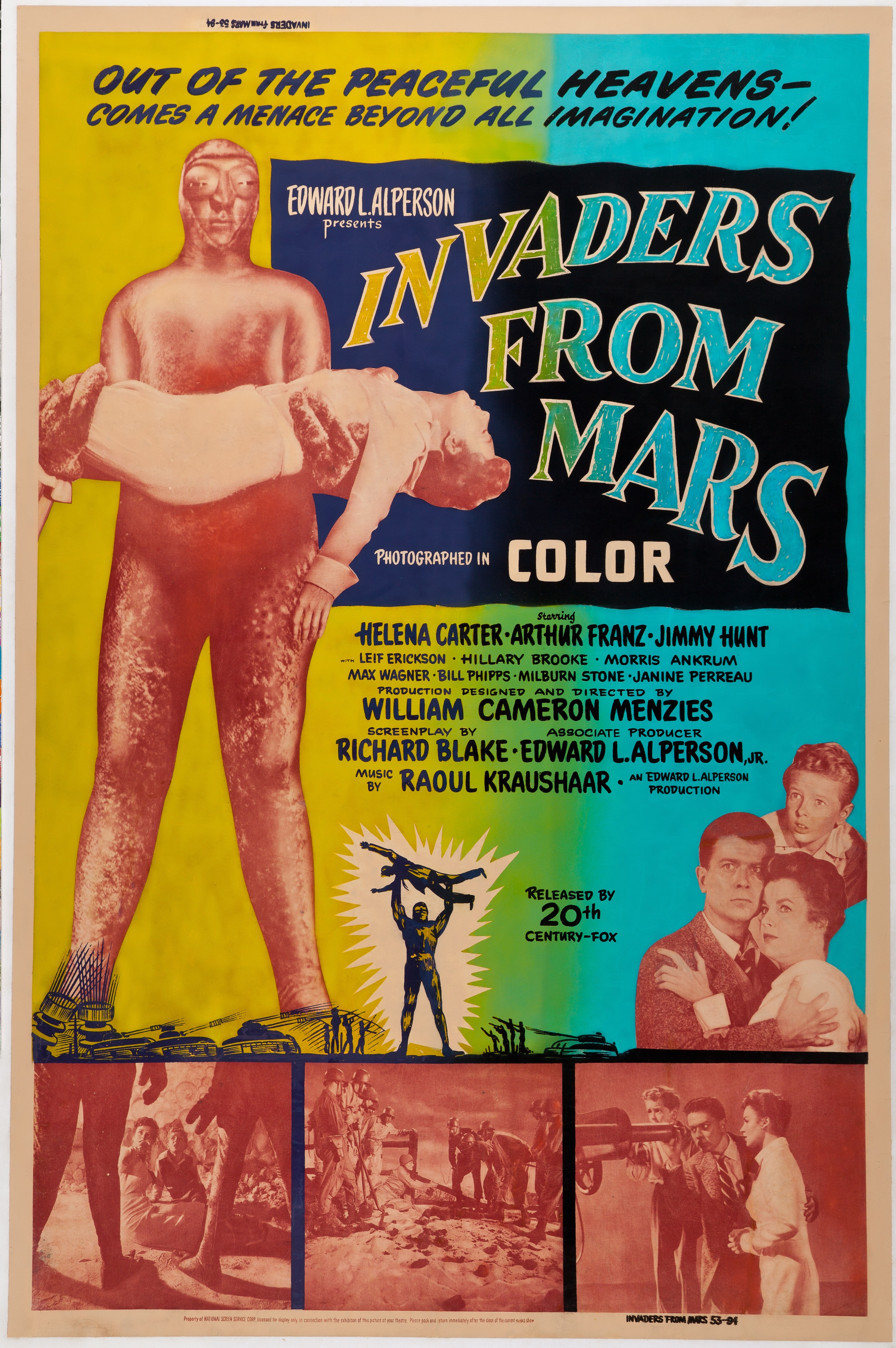 Invaders From Mars 1953 - Primary