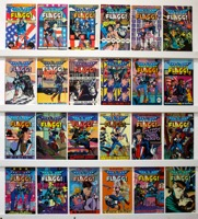 American Flagg  Lot Of 62 Comics  #1 To 50 - Primary