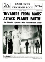Invaders From Mars Uncut Pressbook & Herald  1953 - Primary