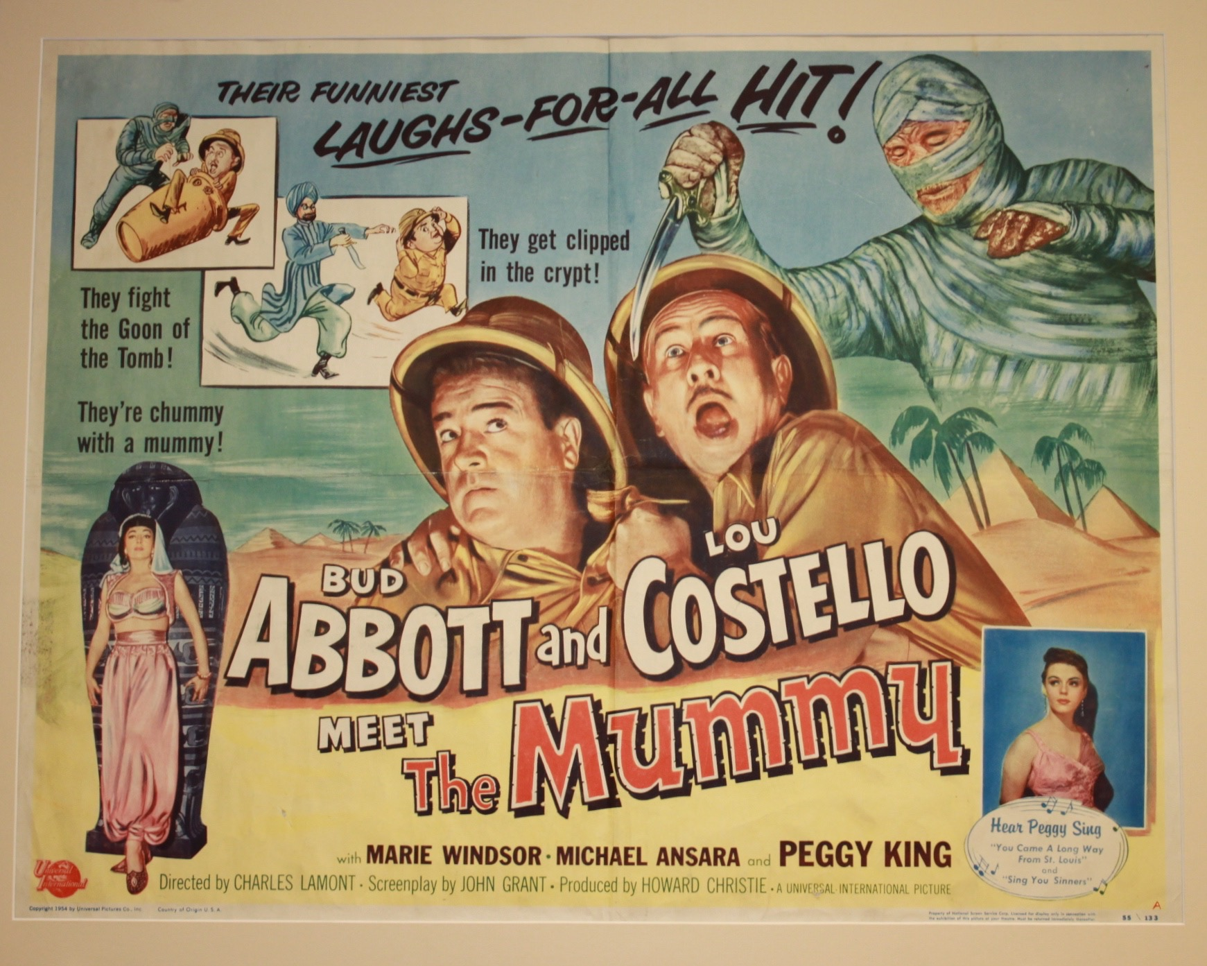Abbott & Costello Meet The Mummy 1955 - Primary