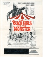 The Beach Girls And The Monster 1965 - Primary
