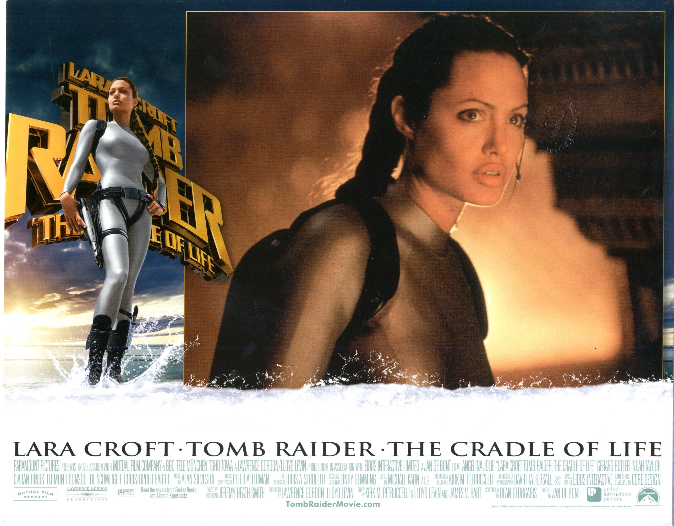 Lara Croft Tomb Raider Cradle Of Life 2003 Sold Details Four Color Comics