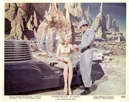 Forbidden Planet Color 8 X 10 - Primary