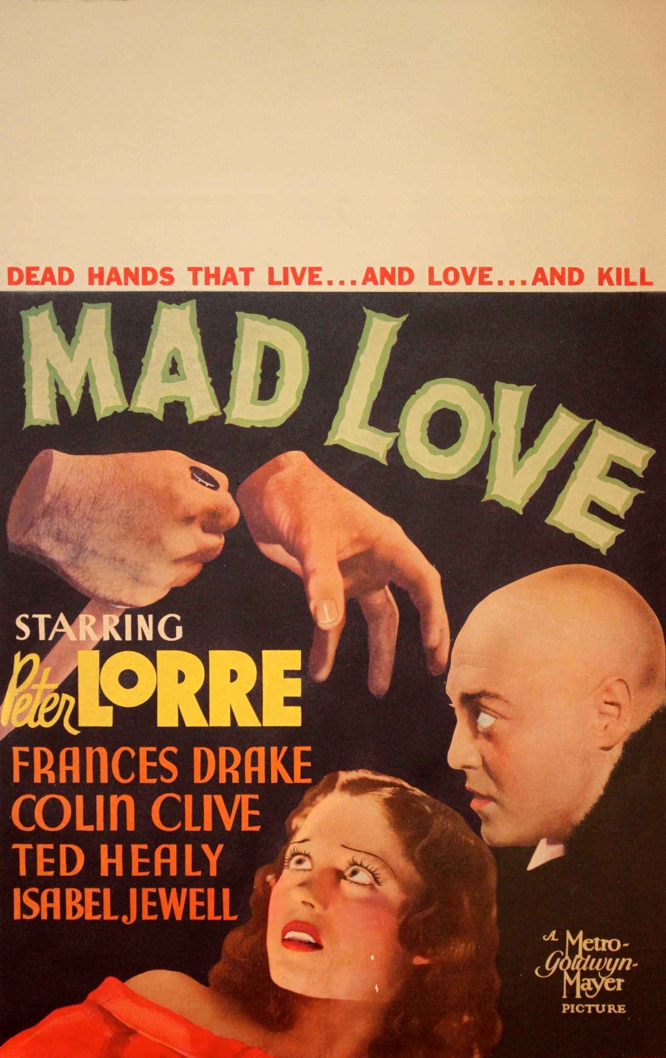 Mad Love 1935 - Primary