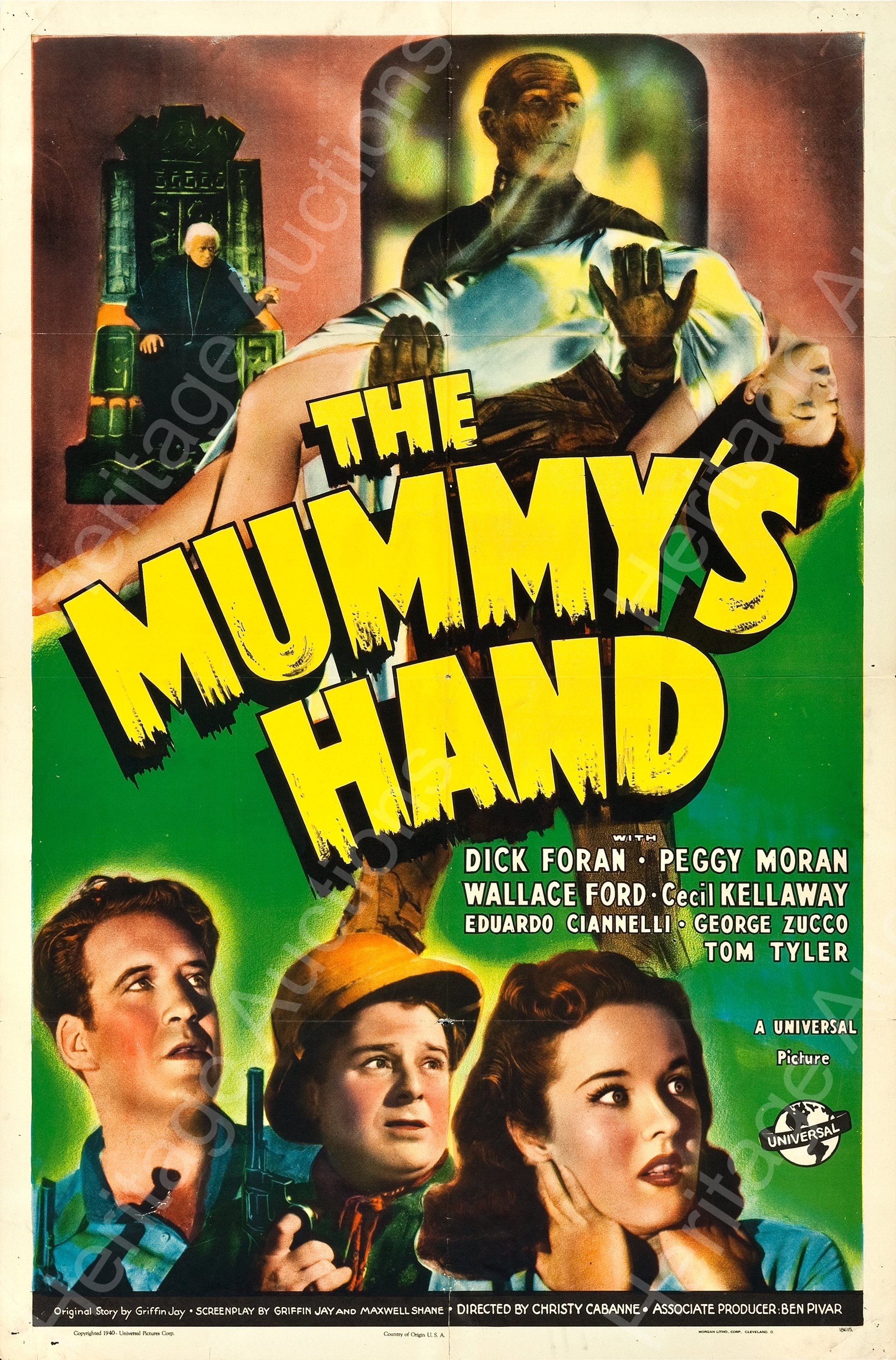 The Mummy's Hand 1940 - Primary
