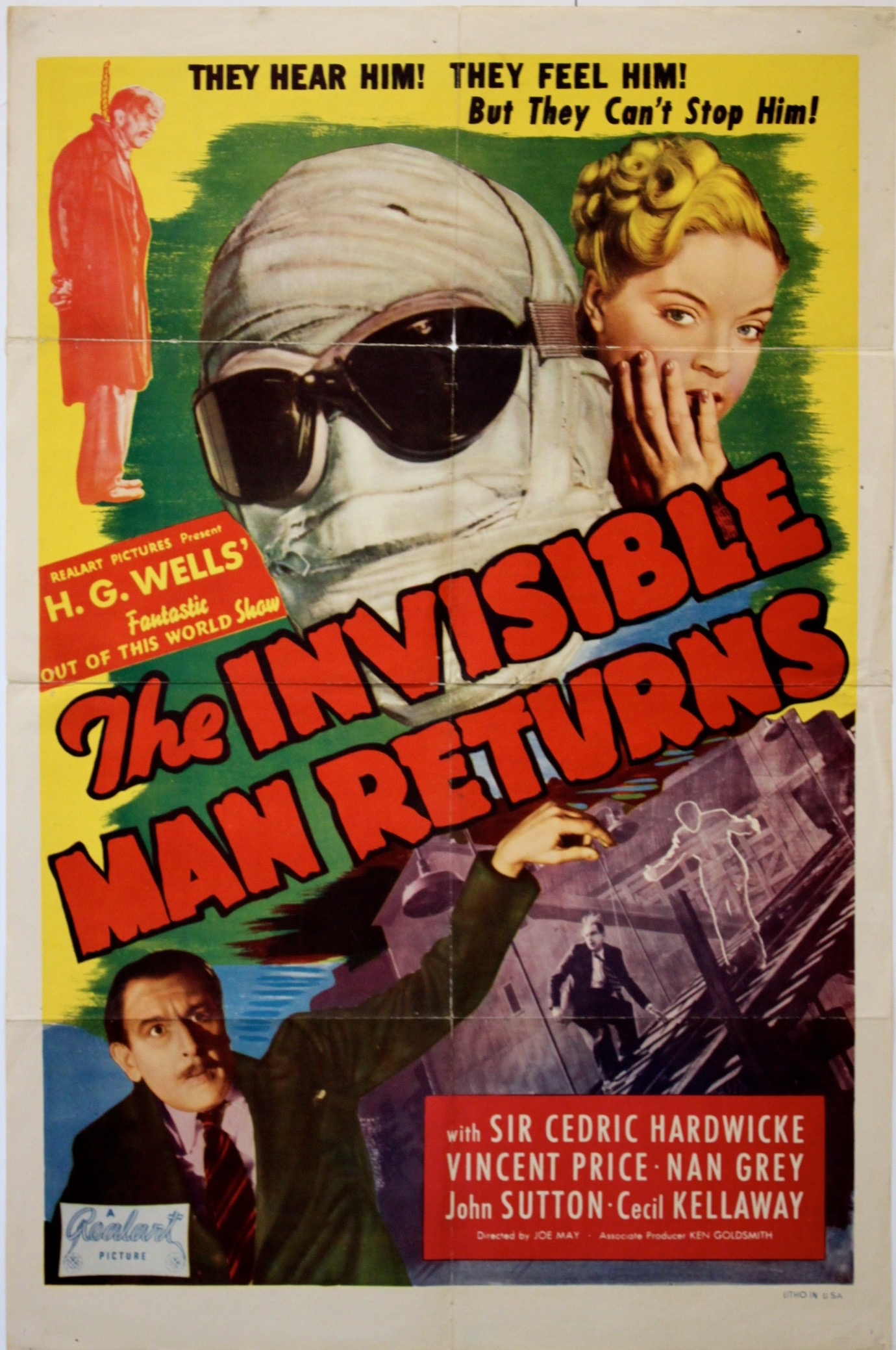 Invisible Man Returns   R-1948   Poster - Primary