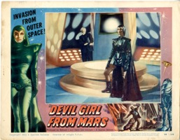 Devil Girl From Mars    1955   Card # 2 - Primary