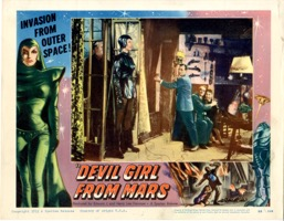 Devil Girl From Mars  1955  Card #1 - Primary