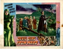 Devil Girl From Mars  1955  Lobby Card #3 - Primary