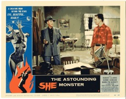Astounding She Monster   1958 - Primary